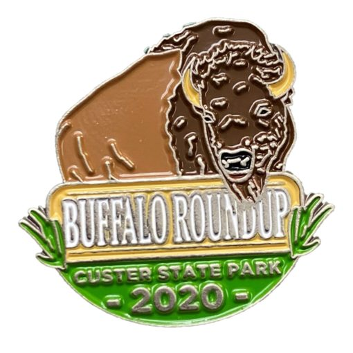 2020 Custer State Park Buffalo Round Up Pin