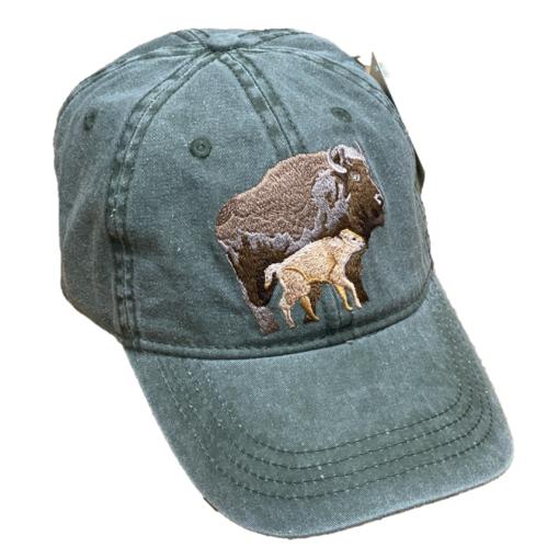 Adopt a bison hat