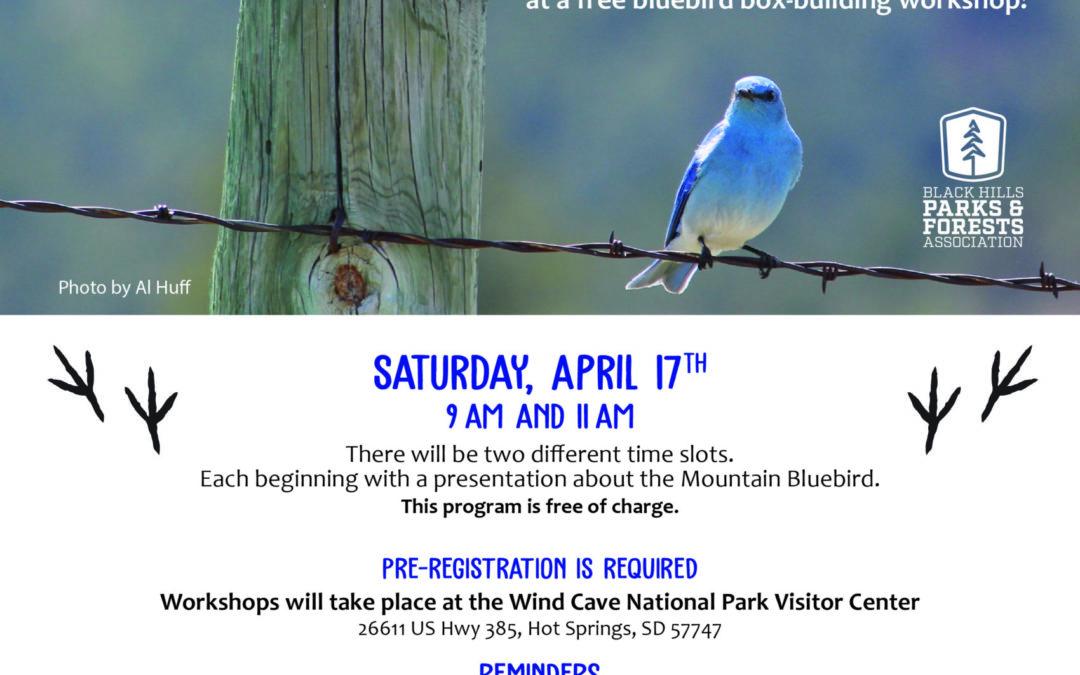 Bluebird Box Workshop Registration