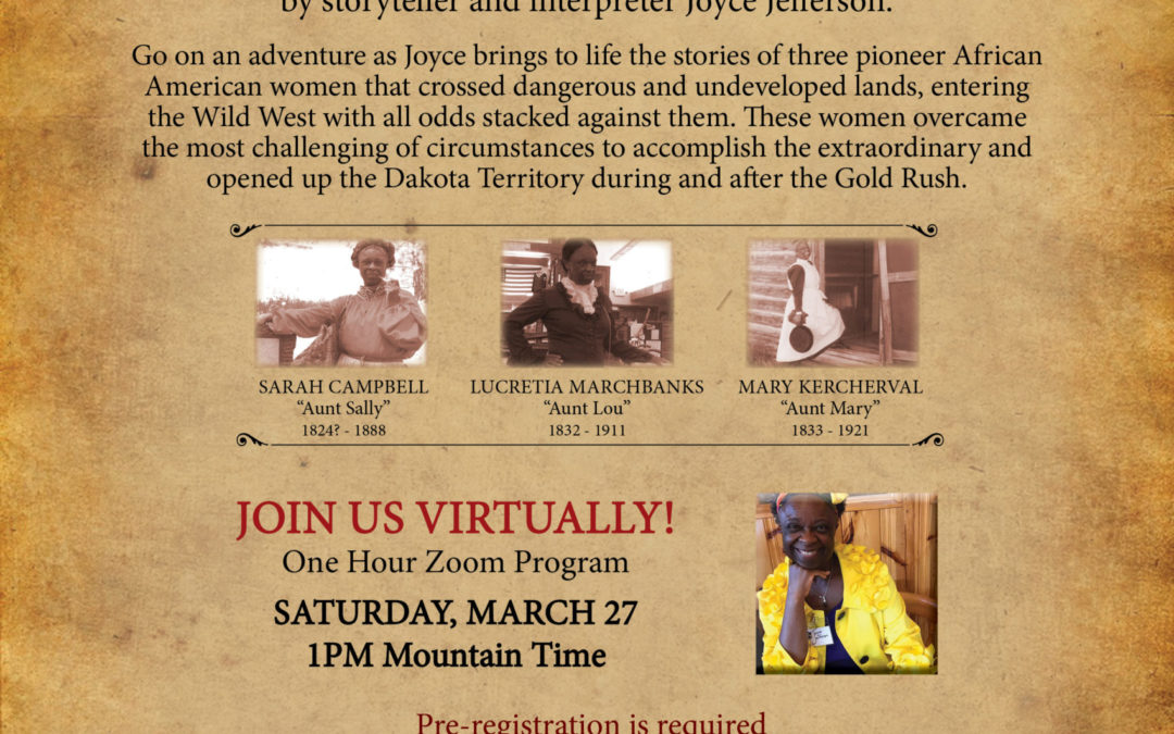 """Join BHPFA for the virtual event """"Black Hills Sheroes"""""""
